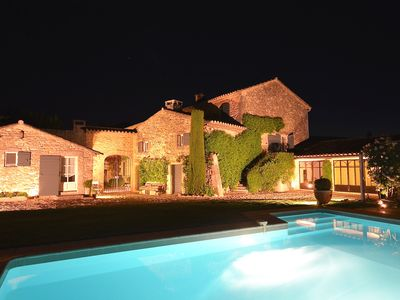 Photo for St Roch: superb farmhouse from the 18th century in the heart of Provence