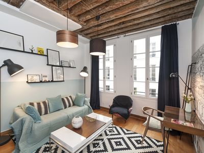 Photo for Cosy & recently redecorated apartment near the Louvre Museum in 1st