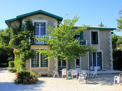 Photo for Large charming villa facing the sea front line in Royan