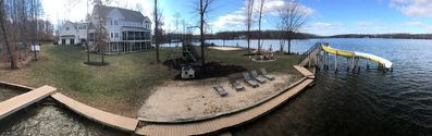 Panorama of the house and lot - huge yard!