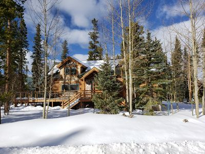 Photo for Cozy Lodge with a Hot Tub in Breckenridge