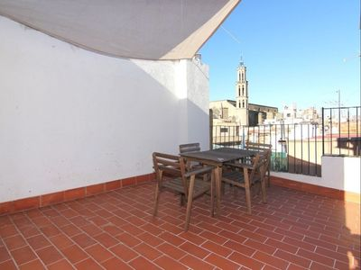 Photo for Picasso 5 apartment in El Borne with WiFi, air conditioning, private terrace, balcony & lift.