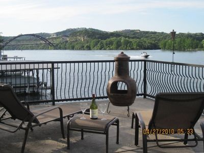 Photo for Waterfront Lake Austin Cottage:Close to Downtown/Kayaks/Paddle Boards/Boat Deck