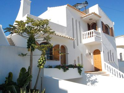 Photo for Large Villa in a relaxing area, with a private heated Pool and great Sea view.