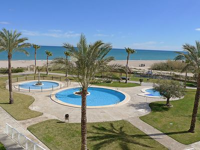 Photo for Apartment Residencial Mar de Denia in Dénia - 4 persons, 2 bedrooms