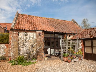 Photo for Eastgate Barn is a cosy conversion of a 17th Century barn in Holme-Next-The-Sea