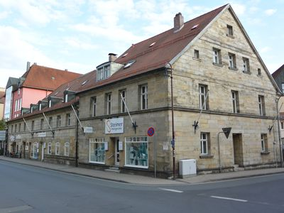 Photo for Center Bayreuth: Fantastic antique-beam-apartment with Klimaanl. 4 **** Wifi free.