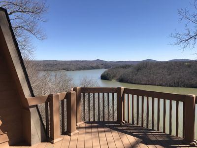 Photo for *NEW*AMAZING LAKE AND MTN VIEWS! SLEEPS 11 ,HOT TUB, WIFI, 3 MI TO BOAT RAMP