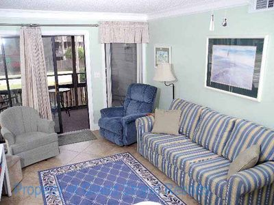 Photo for Tilghman Beach and Racquet Club Unit: 144! Across the street from the beach! One block from Main Street!