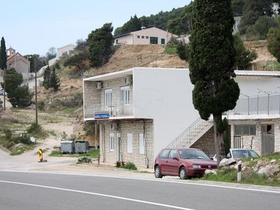 Photo for One bedroom apartment with balcony and sea view Marušići (Omiš)