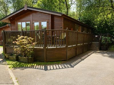 Photo for Spacious holiday lodge in the heart of the Lake District