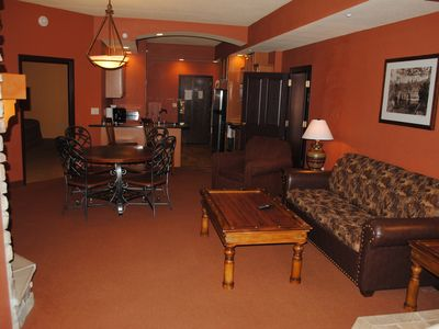 Photo for Beautiful 3 Bedroom Condo, Summer bookings include up to 10 Noah's Ark passes