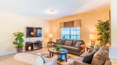 Photo for Modern Bargains - Paradise Palms Resort - Beautiful Relaxing 5 Beds 4 Baths  Pool Villa - 4 Miles To Disney