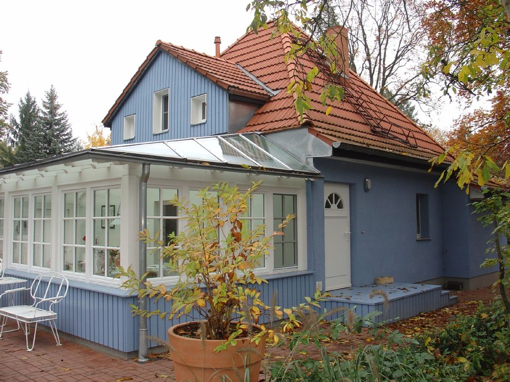 holiday house with charm flair and winter garden in a large