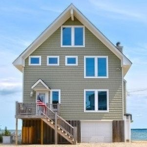 Photo for The Perfect Private three bedroom Beach House steps away from the water