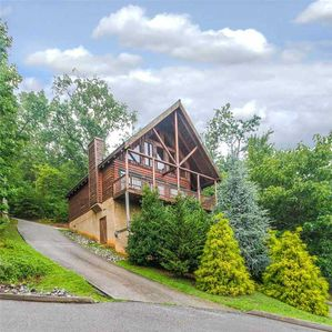 Photo for Heaven's Scent | Luxury Cabin in Pigeon Forge | Mountain Views | Hot Tub | WiFi | Community Pool