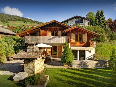 Photo for Enjoy the evening sun from the terrace of this charming home - OVO Network