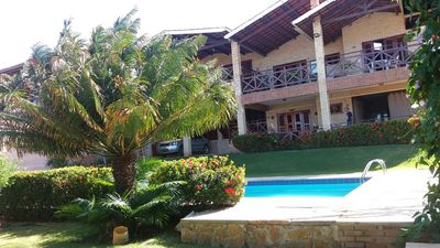 Photo for Luxury villa 100m in front of the beach. Quiet place with beautiful view.