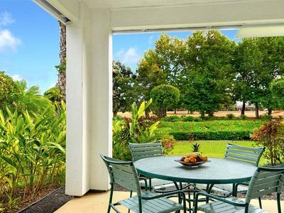 Photo for Emmalani Court 411-Air Conditioned, spacious, beautifully decorated,near beach access and golf