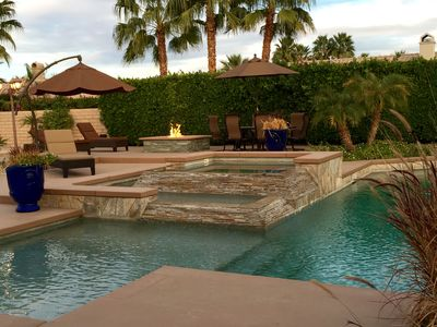 Wow Factor Private Resort Giant Pool Sandy Beach Jacuzzi Sunset Swings La Quinta