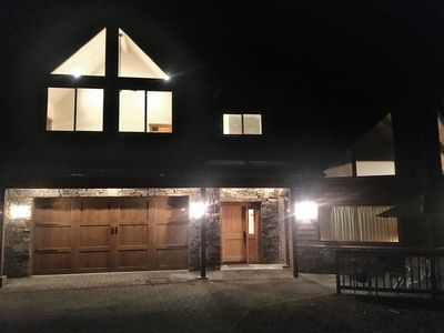 Night time at the chalet
