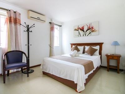 Photo for MAURITIUS: GRAND BAY: CORAL PARK RESDIDENCE: APARTMENT SOURINAM, FURNISHED WITH COMMON SWIMMING POOL, 2 PERS