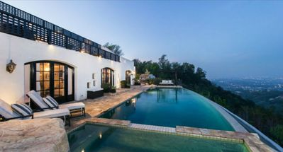 Photo for Million Dollar View Amazing Home on Top of Beverly Hills overlooking L.A.