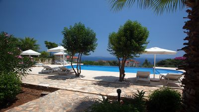 Photo for A beautiful spacious holiday home in Kas overlooking Mediterranean sea