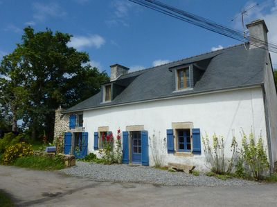 Photo for Charming Stone House in a very Children Friendly village. Walk to harbor & Beach