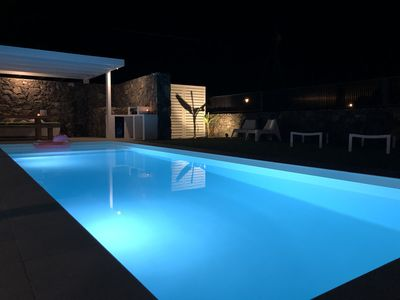 Photo for Brand new and modern villa in Lajares (Fuerteventura) with heated pool