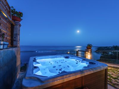 Photo for The Little House with sea view and private hot tub