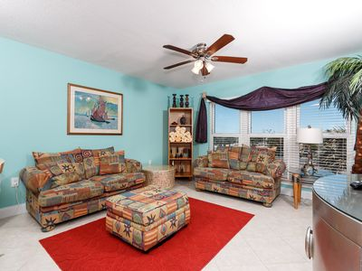 """Photo for """"Emerald Isle Unit 306"""" Large Spacious Condo, sleeps 10! Two Private Balconies to Relax and Renew!"""