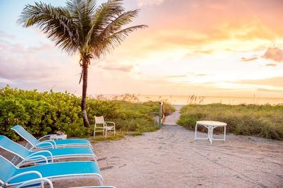 Located directly on the Gulf of Mexico, A Captiva Paradise is a gorgeous home with an array of amenities for the whole family.
