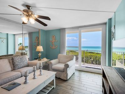 Photo for Great Location ~ Seagrove Beach ~ Gulf-front Heated Pool ~ Seasonal Beach Chairs