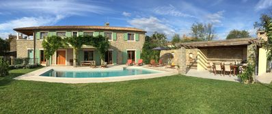 Photo for Restored Old Stone Farmhouse With Private Pool - Ideal For Families