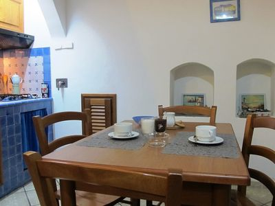Photo for Elegant Holiday House in Lipari old town with terrace and wi-fi-Aeolian Islands