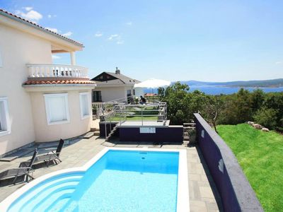 Photo for This 6-bedroom villa for up to 12 guests is located in Crikvenica and has a private swimming pool, a