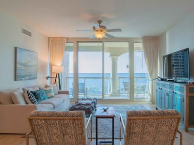 Photo for Private Beach Condo with Bay Views and Access to All Resort Amenities. Close to Pensacola Beach Attracations!