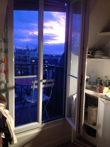 Photo for Charming little studio with a view, Paris 11th