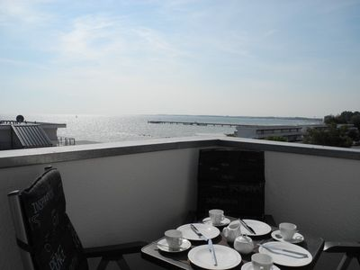 Photo for Fantastically beautiful penthouse apartment with sea views, new: With WLAN
