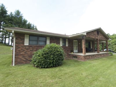 Photo for Neat 3BR/2BA home in serene setting with pastoral mountain views.