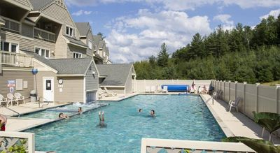 Olympic Size Heated Pool All Year Open All Year Long.
