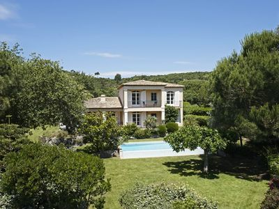 Photo for HOUSE ON GREEN GOLF BEAUVALLON, PRIVATE HEATED POOL