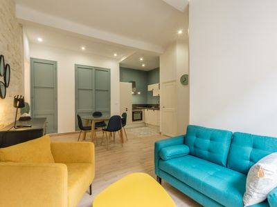 Photo for LUMINOUS APARTMENT - MONTPELLIER CITY CENTER - 2 PEOPLE