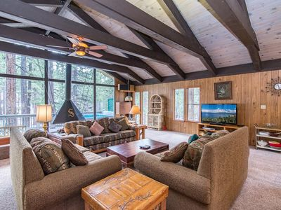 Photo for Classic Charm in South Lake Tahoe – Views of the Heavenly Mountain Slopes!