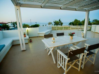 Photo for Luxury apartment RODIA with great sea views in Rhodes - Ialysos