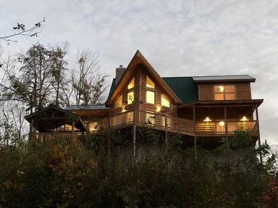 Photo for CHESTNUT RIDGE New Mountain Cabin (No Extra Mgmt Fees).
