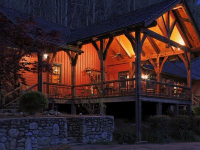 Photo for Family Mountain Lodge on 70 acres near Waynesville and Asheville