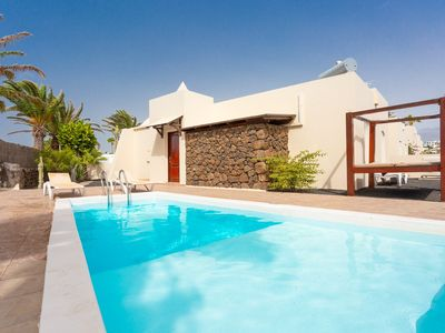 Photo for Villa Luna: Heated Private Pool, Walk to Beach, WiFi, Car Not Required