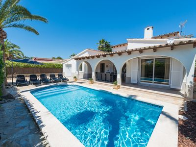 Photo for Villa With Private Pool,Port Alcudia,airport transfer included in prices